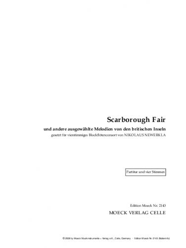 newerkla nikolaus hg scarborough fair und andere. Black Bedroom Furniture Sets. Home Design Ideas
